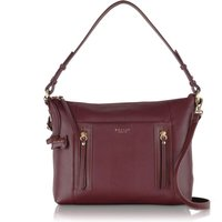 Radley Northcote road medium ziptop multi bag, Red