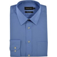 Men's Double TWO Extra Tall Custom Fit Shirt, Cornflower - Custom Gifts