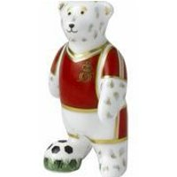 Royal Crown Derby Footballer Red Bear, Red - Bear Gifts
