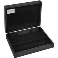 Arthur Price Wooden Cutlery Cabinet Black Finish, Black - Cutlery Gifts
