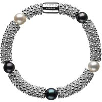 Links of London Effervescence Star Pearl Bracelet, Silver