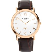 links of london noble classic watch, rose gold