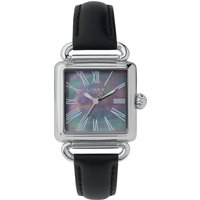 Links of London Driver Black Mother of Pearl Watch, Steel