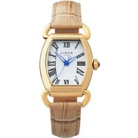 links of london driver ellipse tan watch, tan