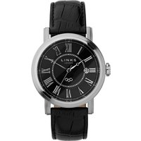 links of london richmond black dial watch, black