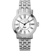 links of london richmond white dial bracelet watch, silver