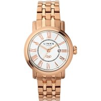 links of london richmond bracelet watch with white dial, n/a