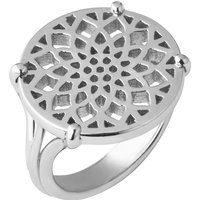 Links of London Timeless sterling silver coin ring- size P, N/A