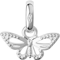 Links of London Sterling silver flutterby charm, Silver