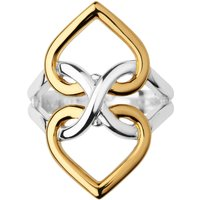 Links of London Infinite Love Silver & Gold Vermeil Ring, Silver
