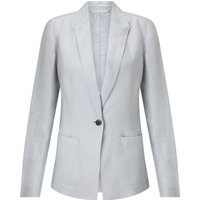 Jigsaw Louisiana Linen Jacket, Grey