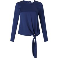 Jigsaw Satin Tie Top, Blue - Jigsaw Gifts