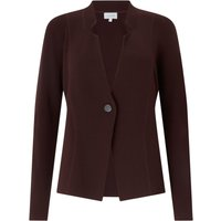 Jigsaw Clean Knit Clasp Jacket, Brown - Jigsaw Gifts