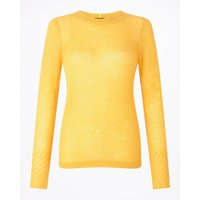 Jigsaw Cloud Cashmere Crew, Yellow - Jigsaw Gifts