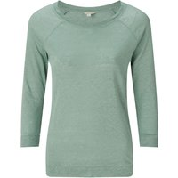 Jigsaw Linen Raglan Sleeve Top, Green - Jigsaw Gifts