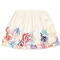 Jigsaw Girls Coral Reef Embroidered Skirt, White - Jigsaw Gifts