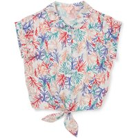 Jigsaw Girls Coastal Reef Printed Tie Shirt, White - Jigsaw Gifts