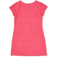 Jigsaw Broderie Pom Pom Dress, Hot Pink - Jigsaw Gifts