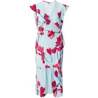 Jigsaw Stripe Cyclamen Wrap Dress, Blue - Jigsaw Gifts