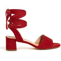 Jigsaw Luna Block Heeled Sandal, Red - Jigsaw Gifts
