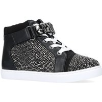 Mini Miss KG Girls Jewel Trainers, Black