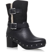 UGG Brea high heel biker boots, Black - Ugg Gifts