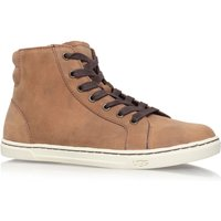 UGG Gradie flat hi-top sneakers, Brown - Ugg Gifts