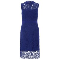 Monsoon Acer Lace Dress, Blue