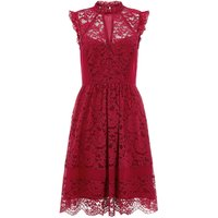 Monsoon Rene Lace Dress, Red