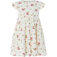 Monsoon Baby Pandora Print Dress, Off White - Pandora Gifts