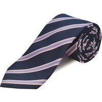 Double TWO Clip On Polyester Tie, Pink