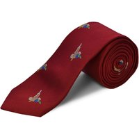 Double TWO Double Two Patterned Tie, Red