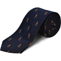 Double TWO Double Two Patterned Tie, Blue