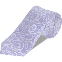 Double TWO Double Two Patterned Tie Gift Set, Lilac