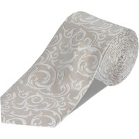Double TWO Double Two Patterned Tie Gift Set, Cream