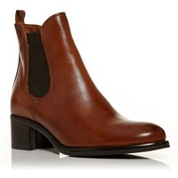 Moda in Pelle Colina chelsea boots, Tan - Chelsea Gifts