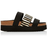 Moda in Pelle Poleeni sandals, Black