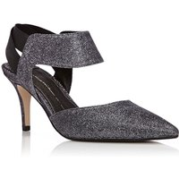 Moda in Pelle Carmona Court Shoes, Pewter