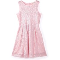 Yumi Girls Sequin Party Dress, Pink - Seek Gifts
