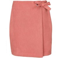 Yumi Wrap Skirt with Bow, Pink