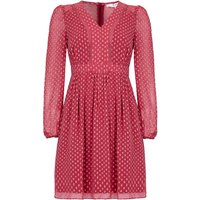 Yumi Spot Chiffon Dress, Pink - Seek Gifts