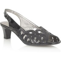 Lotus Harper formal shoes, Black Patent - Shoes Gifts