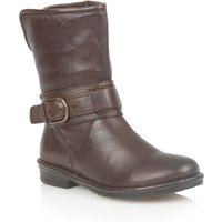 Lotus Matterhorn Leather Ankle Boots, Brown