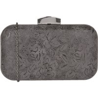 Lotus Puffin matching clutch bags, Grey