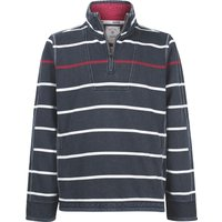 Men's Fat Face Airlie Stripe Sweat, Dark Blue
