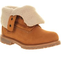 Timberland Teddy fleece ankle boots, Brown