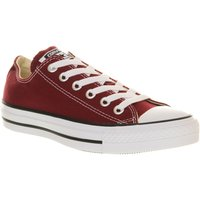 Converse Converse all star low trainers, Maroon