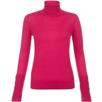 Hobbs Larissa Roll Neck, Hot Pink