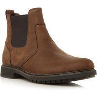 Timberland 5552R heavy round roe chelsea boot, Brown