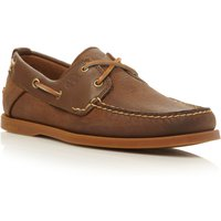 Timberland 6306a lace up 2 eye boat shoes, Dark Brown
